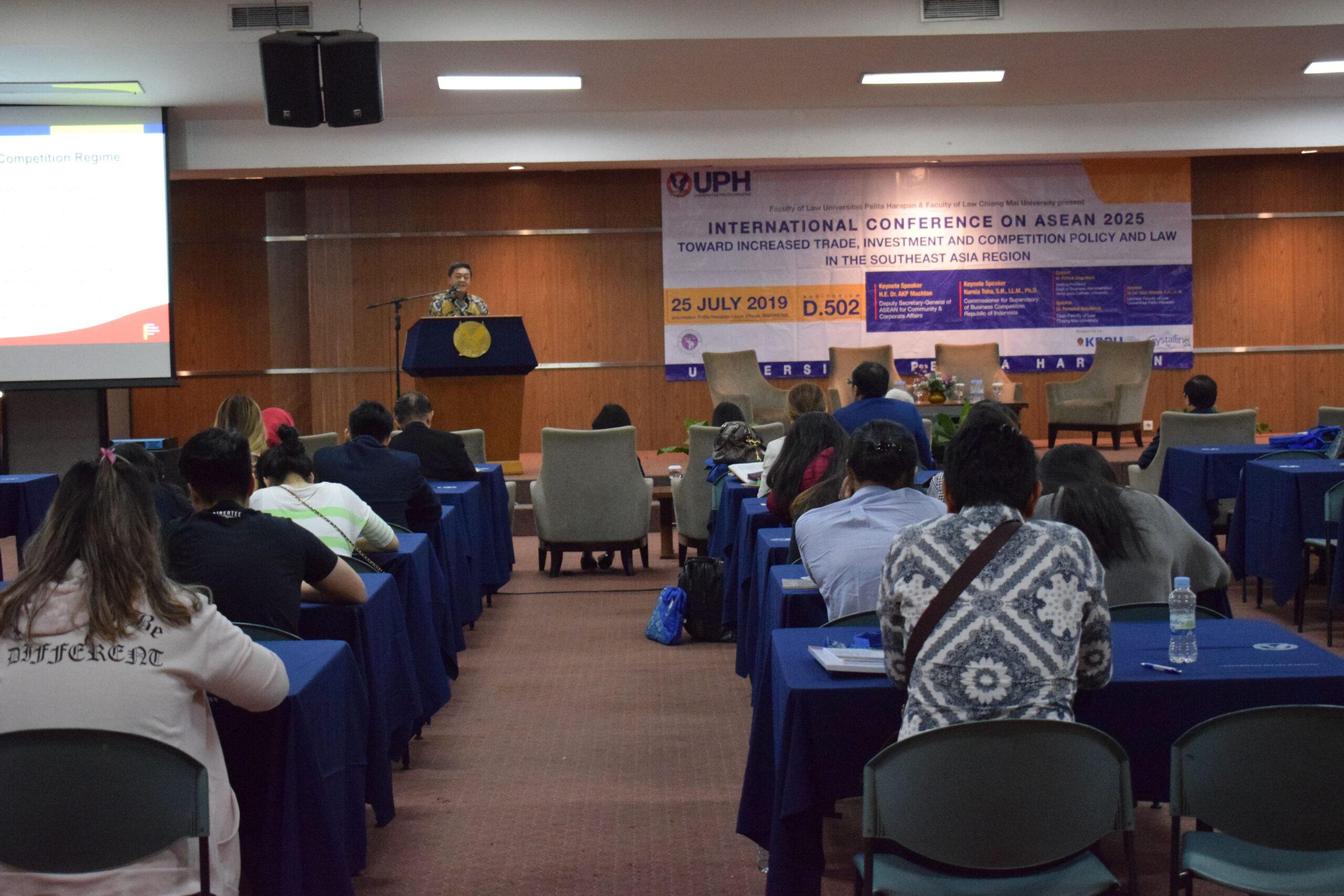 ASEAN Conference UPH, 25 Juli 2019